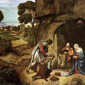 Giorgione - L'Adoration des bergers - LANKAART