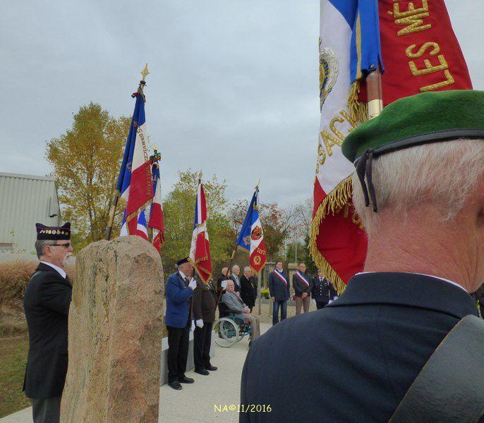 Cérémonie du Souvenir avec le Souvenir Français à Neuf-Brisach