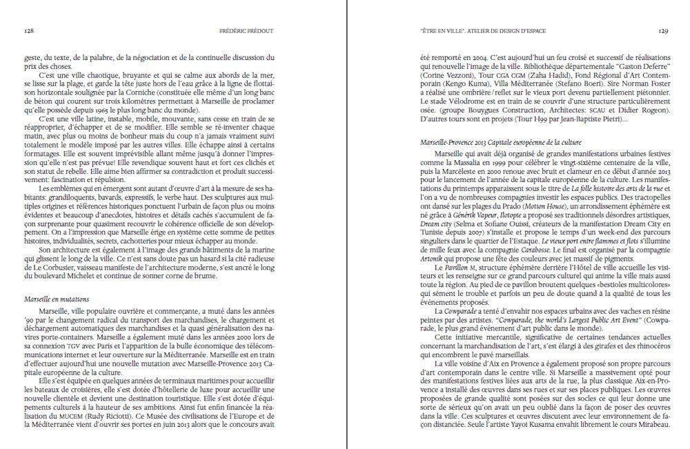 Publication de Frédéric Frédout dans l'annuel de l'académie des Beaux-Arts de Venise