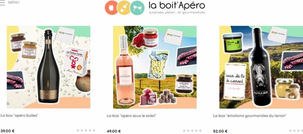 commande - parcours d'achat - livraison La Box Apéro de La Boit'Apéro @ Tests et Bons Plans