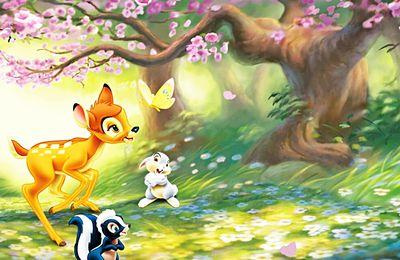 Bambi - Panpan - Disney - Dessin-animé - Wallpaper - Free