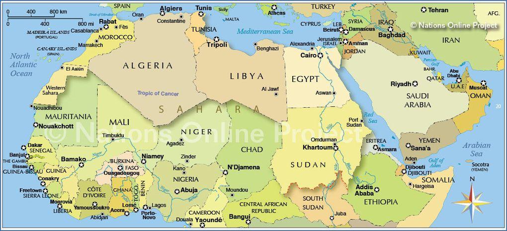 El Islam no es africano, debe ser eradicado del continente africano.