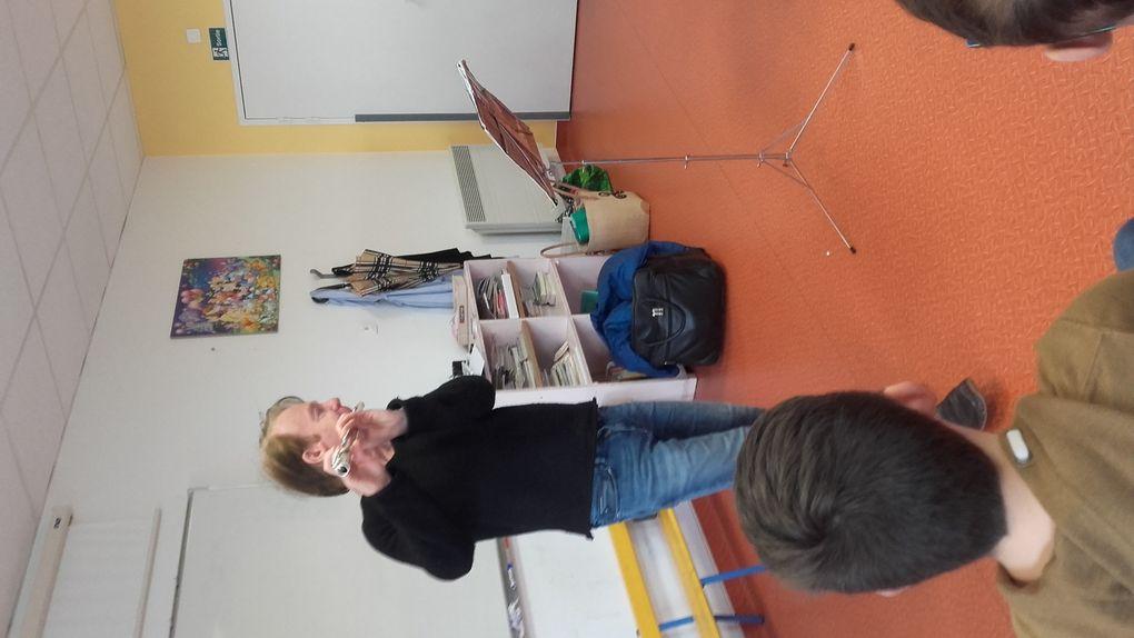 Un musicien à l'école