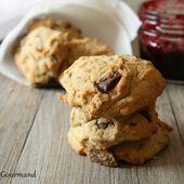 Biscuits aux graines de tournesol et chocolat { sans gluten, sans lait, sans œufs } - Allergique Gourmand