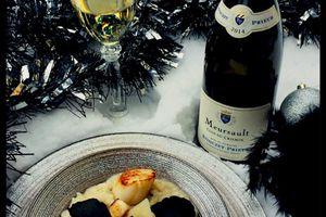 Risotto de fêtes - St Jacques et Truffes -