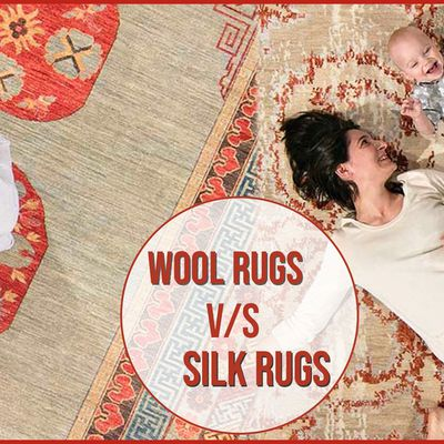 Wool Rugs Or Silk Rugs Which Are Perfect Rugs Online?