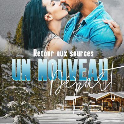 """Livre """"Un nouveau départ"""" Tome 1 : """"Retour aux sources"""" de Christelle Morize Amazon 2020"""