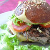 Hamburgers tout maison - Dans la cuisine d'Audinette