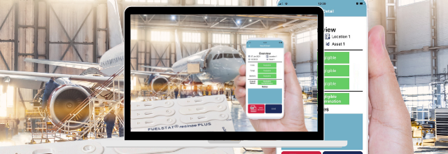 Unique mobile app to test for fuel contamination