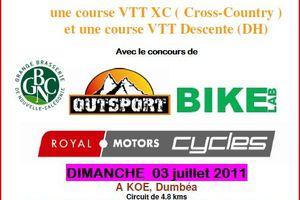 VTT Passion organise une course