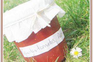 Coulis de tomates en conserve ... sans stérilisateur
