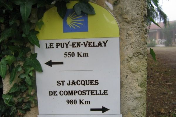 Mon chemin de St Jacques NOGARO->AIRE sur l'ADOUR 25 Km. 2/3