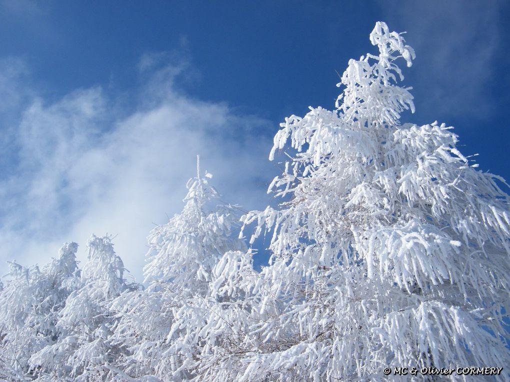 La partie ski : Neige, Froid et grand soleil...