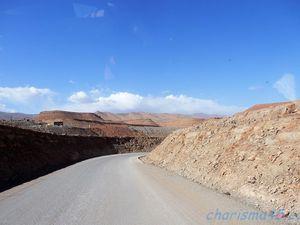 RN12 Agoudal - Tinghir (Maroc en camping-car)