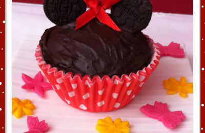 CUPCAKES DE MINNIE MOUSE