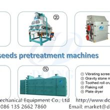 120tpd groundnut oil production line detailed introduction