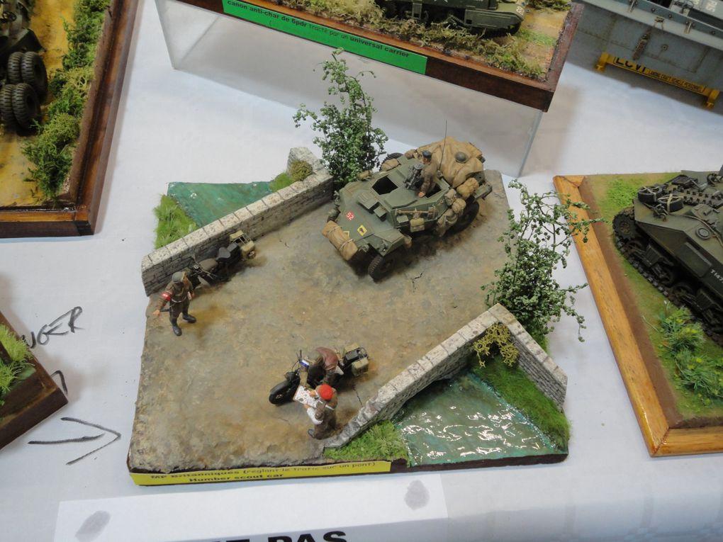 Expo-Concours de Maquettes au Musée des Blindés de Saumur - Samedi 22 mai 2010.