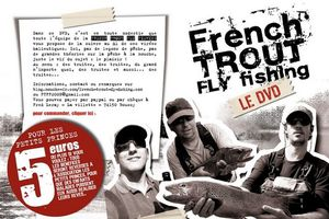 DVD French Trout Fly Fishing.
