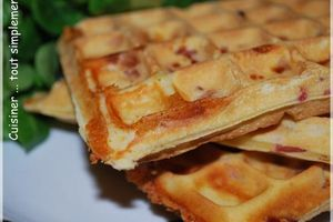 Gaufres Maroilles - Bacon ... divinement BON