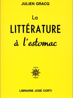 La littérature à l'estomac