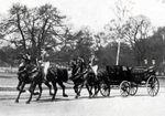 En 1900 Ecurie et équipages du prince Radziwill