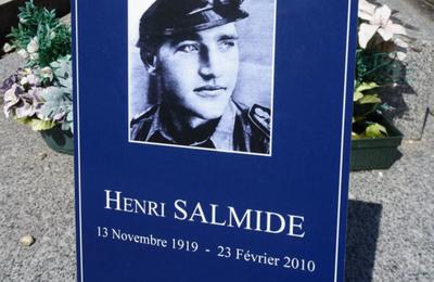 Henri Salmide. Le soldat allemand qui a sauvé Bordeaux par amour...