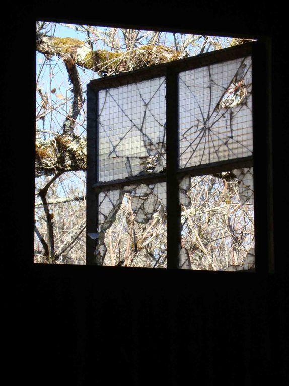 parcours artistique 2012 à Savignac les Eglises sur l'ancien camp militaire.