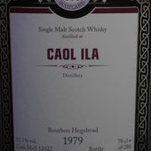 Caol Ila 1979 / 2012 Malts of Scotland - Passion du Whisky