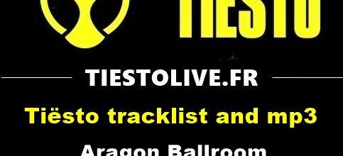 Tiësto tracklist and mp3 | Aragon Ballroom | Chicago, IL December 23, 2017