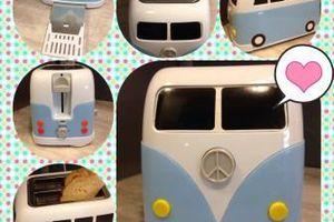 Coup de cœur conso : le grille pain Camping-car toaster !