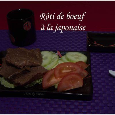 Rôti de boeuf à la japonaise (Japon)