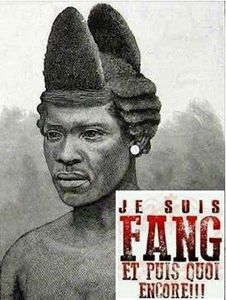 Homme Fang anée 1880