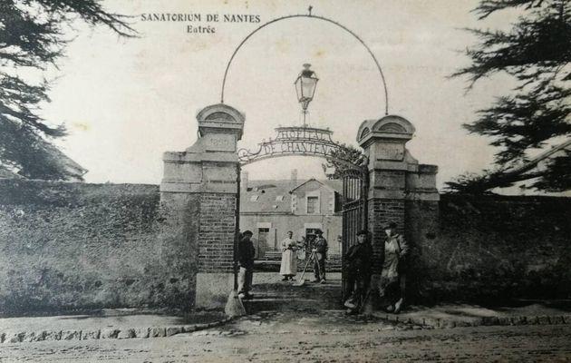 Etablissement de santé de Chantenay - 1880 - 1984 : Tour à tour  dispensaire, hôpital, sanatorium en 1909...