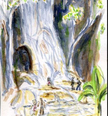 Voyage en Haïti .... Saut d'eau et la route de l'Artibonite