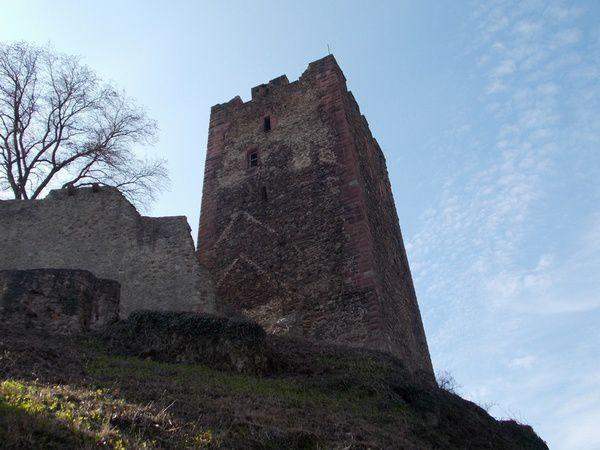 Le Château de Kastelburg à Waldkirch