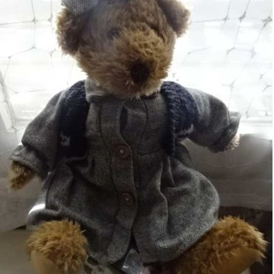 OURS PELUCHE MARQUE INCONNUE