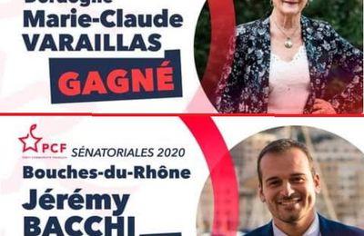 ÉLECTIONS SÉNATORIALES : le PCF gagne deux sièges, un en Dordogne, l'autre dans les Bouches-du-Rhône