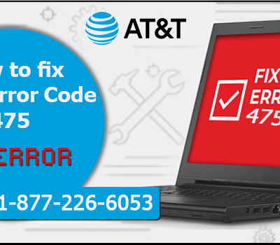 How to fix AT&T Error Code 475
