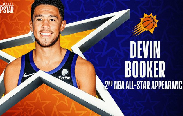 Devin Booker remplace Anthony Davis au All-Star Game