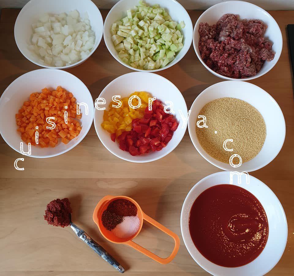 Parmentier de couscous