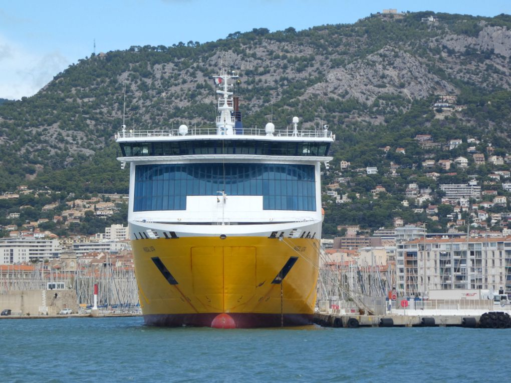 PASCAL LOTA  , a quai au port de Toulon le 25 septembre 2020