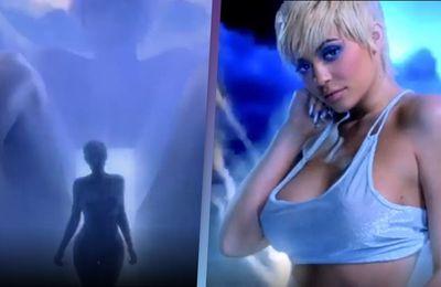 Kim Kardashian donne naissance à Kylie Jenner dans le clip vidéo de Tyga et Kanye West qui fuit