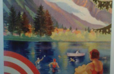 Un très bel ouvrage sur toute l'histoire de la plage de Chamonix et le lac du Bouchet, un lieu mythique de 1900 à 1970 par Jean-Philippe Gaussot .