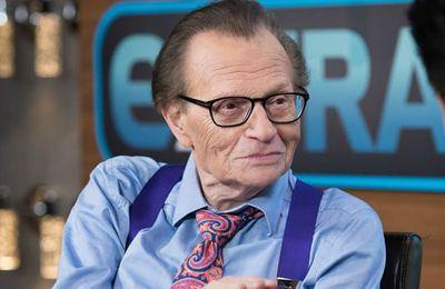 Larry King, légende de la télé américaine, est mort à 87 ans