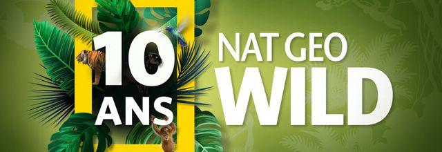 Nat Geo Wild fête dès dimanche ses 10 ans avec une programmation spéciale