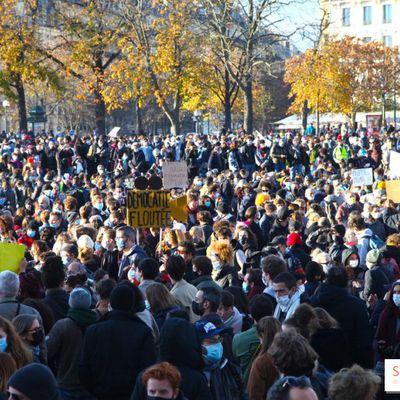 Sécurité globale : manifestation contre les lois liberticides samedi 28 novembre  à 14h