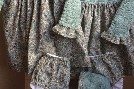 Knitted bodice + gat