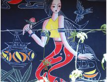 Batik en boutique à Zhoucheng