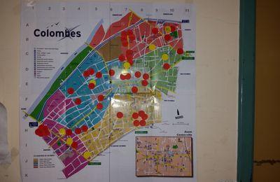 """Réunion publique sur la """"frénésie immobilière"""" à Colombes stopbetoncolombes@gmail.com"""