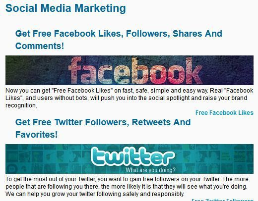 Facebook - Twitter - Google Plus and more